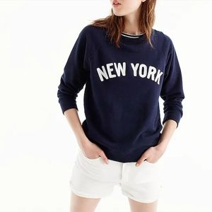 J. Crew New York Sweatshirt Small